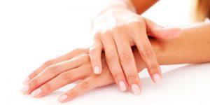 Tratamiento de manos con parafina