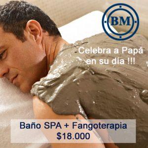 Baño SPA mas Fangoterapia