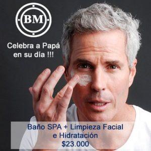 Baño SPA más limpieza facial