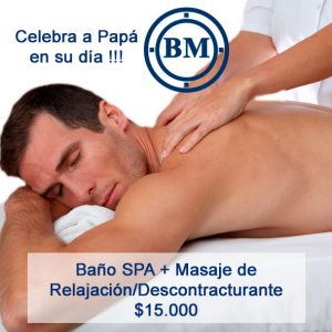 Baño SPA más masaje de relajación/Descontracturante