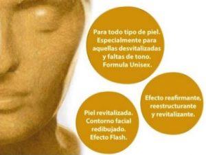 Promo mascara de ORO